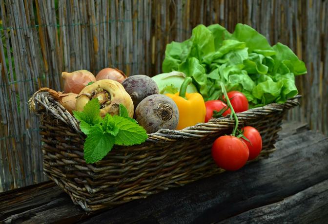 Légumes à consommer