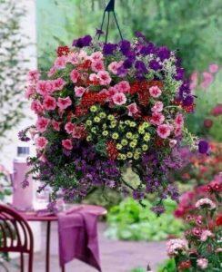 suspension fleurs ballet